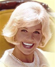 Doris Day Wearing Pearls