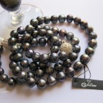 Black Pearls and wine glass