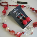 Coral and Pearl Set