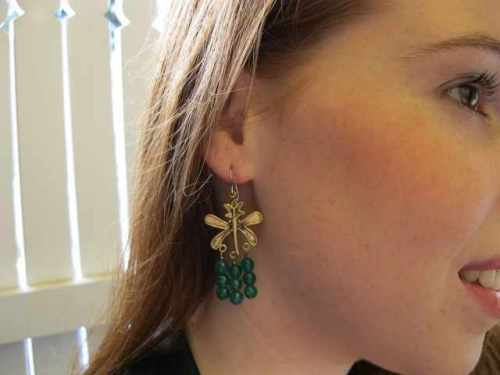 Emerald Green Chandelier Earrings on Squidoo
