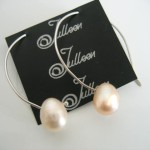Pearl Earring on Etsy