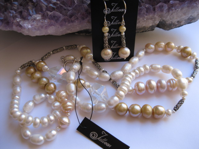 Luscious Substanial and Glamorous! Julleen Pearls at Mariko South Perth