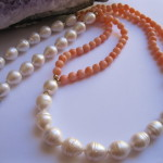 Pearls and Coral Necklace
