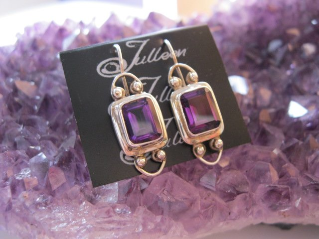 Beautiful Amethyst, birthstone for February.