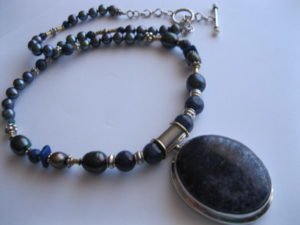 Sodalite-necklace