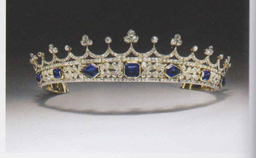Queen Victoria's Coronet Almost Lost