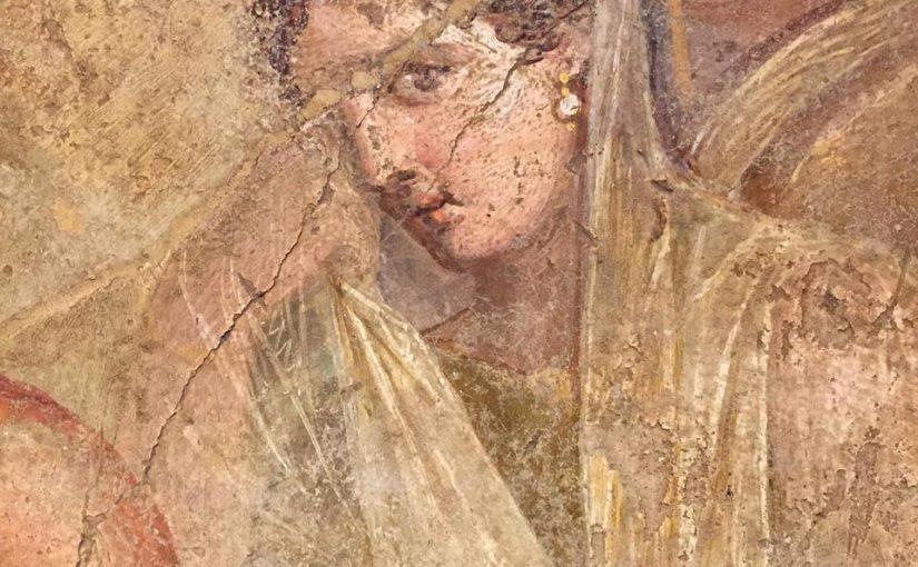 Ladies Wearing Pearls in Pompeii