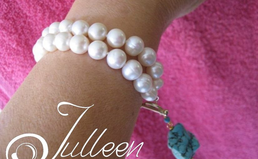 A Smorgasbord of Lovely Pearl Bracelets by Julleen Jewels