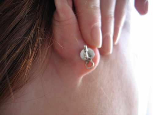 Lobe Lift Earring great for Post-Op maintenance
