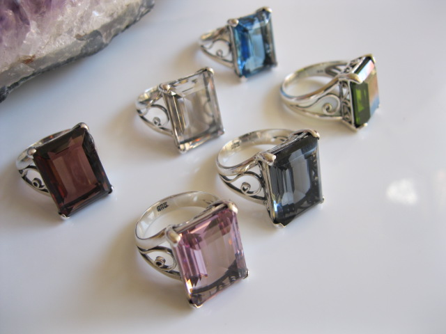 Huge Gemstone Cocktail Rings are at Crazy Prices