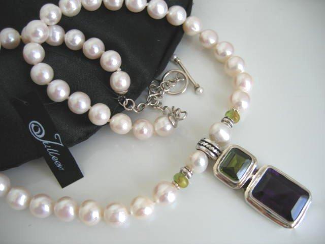 Peridot and Amethtyst, Green and Purple Gemstones POW!