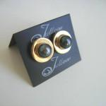 Clip On Green Pearl Earring