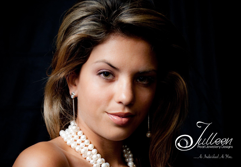 Models Wearing Pearls