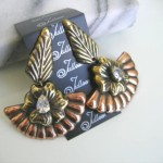 Autumn Leaves Earring by Julleen