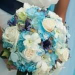 aqua-tone-flowers