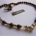 Bronze-Cream-Pearl-Necklace