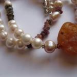 Pearl-Tourmaline-Canelian-Long- Necklace