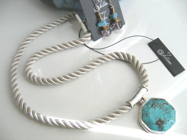 Spring! Turquoise and Pearl