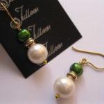 green-white-double-pearl-earring-gold-julleen