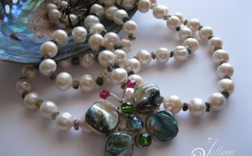 Butterflies are magical in Pearl Jewellery Hello 2018