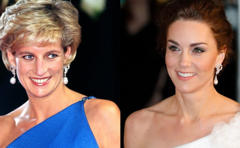 The Cate and Diana Style Pearl Earring – Just in