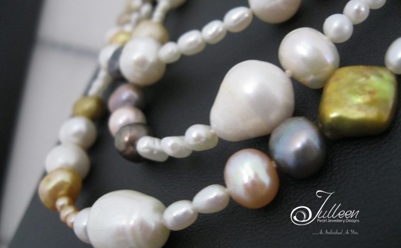 The Longest Pearl Necklace in the Julleen Collection – a dazzling 77 inches