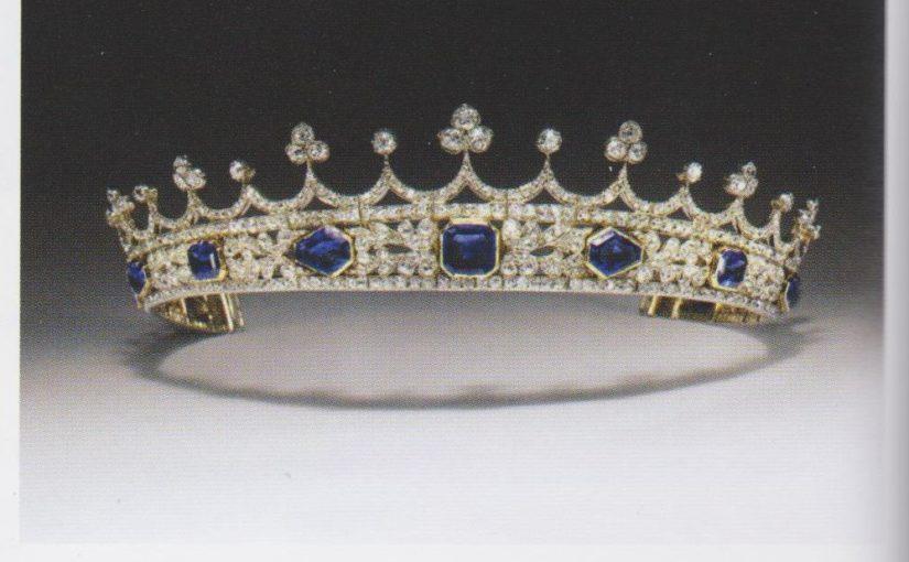 Queen Victoria's Coronet Almost Lost