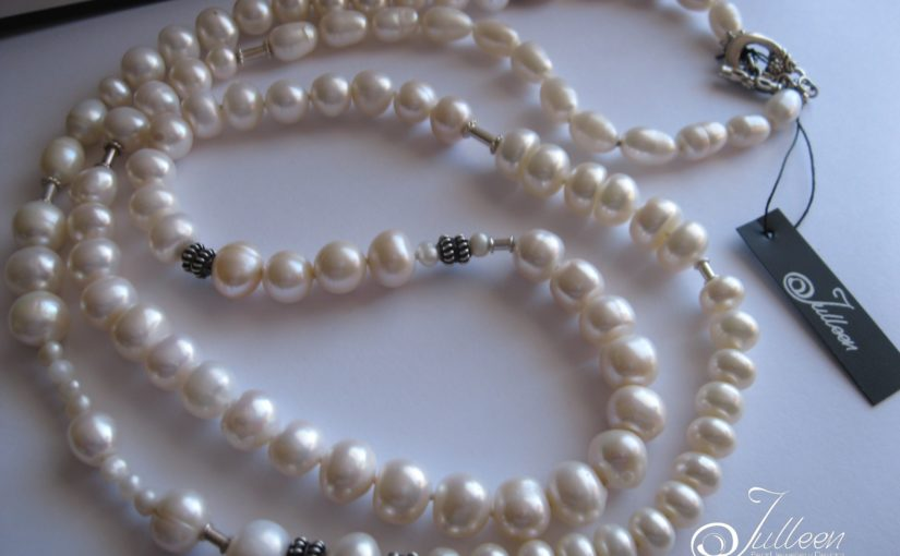 White Pearl Necklaces by Julleen – not too shabby!