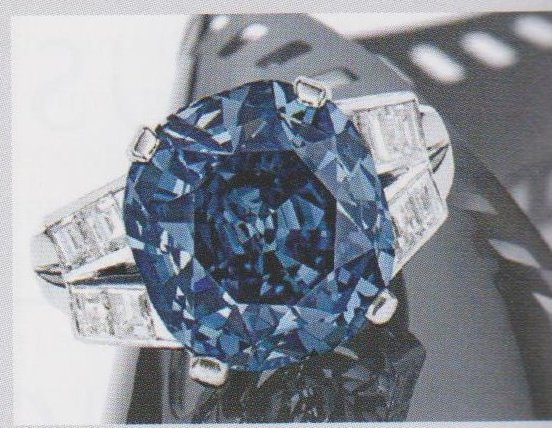 Flawless Shirley Temple Blue Diamond Sale for Millions