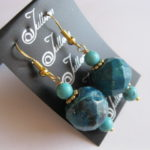 Turquoise-Crysocolla-Earrings