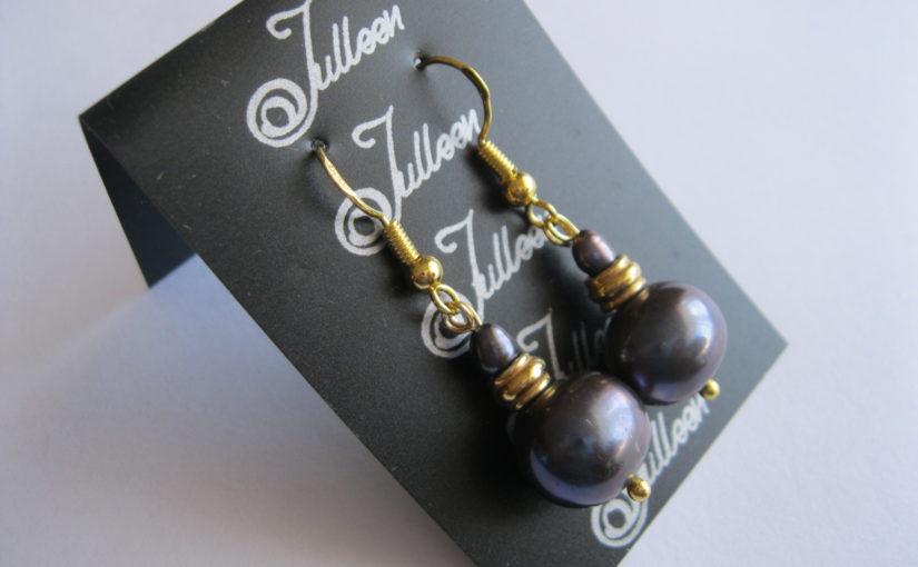 New Julleen Earrings in Gold Vermeil