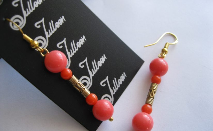 Mad About Coral Earrings for the Australian Summer