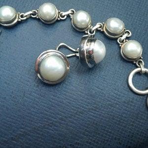 Vicki's Bracelet Julleen Mabe Earrings