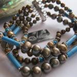 Julleen-Gold-Bronze-Pearl-Blue-Turquoise-Bracelet.2