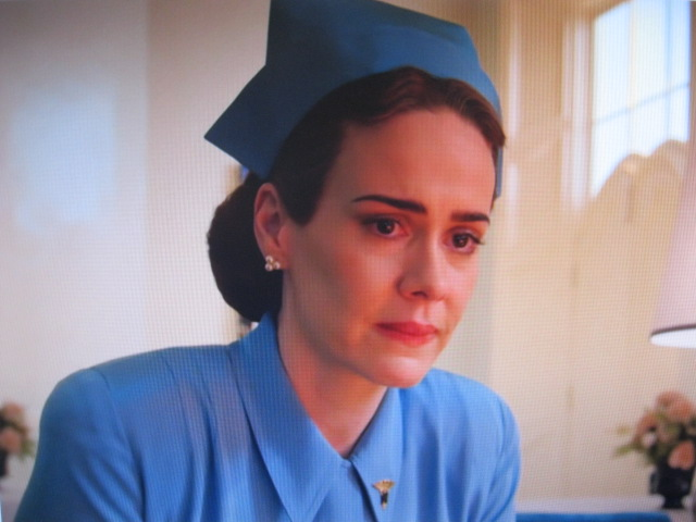 Nurse Ratched Wearing a Julleen Style Pearl Earring